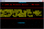 Galaxis - Original and CPC Version